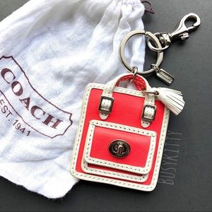 NWOT Coach Legacy Handbag Charm